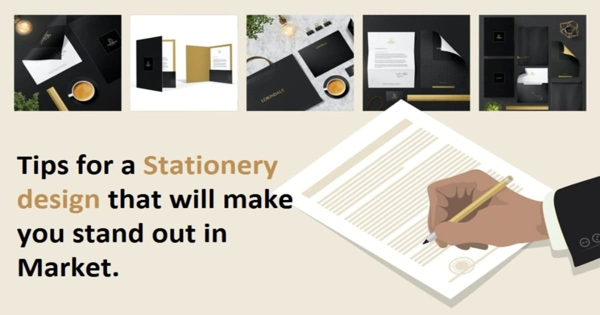 Tips for a Stationery design